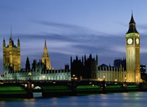 Houses of Parliament and Big Ben, Westminster, London
